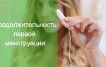 Рассказать о менструации в семь лет