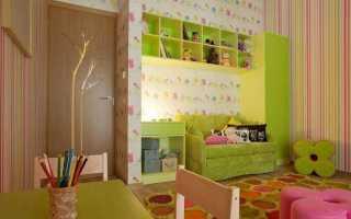 Комбинированные обои для детской комнаты (44 фото): как скомбинировать обои