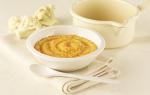 Как приготовить пюре из цветной капусты для первого прикорма для грудничка: рецепт