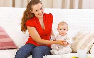 Во сколько месяцев можно присаживать ребенка?