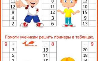 Учим состав числа 10
