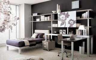 Дизайн комнаты для девочки подростка в современном стиле
