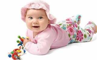 Индивидуальная программа игр и упражнений для детей с 6 до 9 месяцев