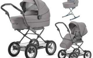 Как правильно выбрать коляску новорожденному